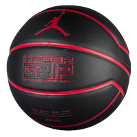 Jordan Hyper Grip Basketball - Black / Red