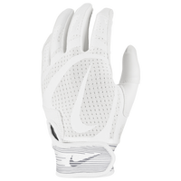 Nike Alpha Huarache Edge Batting Gloves - Men's - White