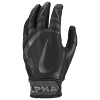 Nike Alpha Huarache Edge Batting Gloves - Grade School - All Black
