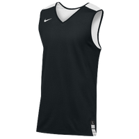 Nike Team Elite Reversible Tank - Men's - Black / White