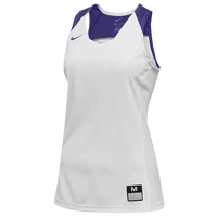 Nike Team Elite Stock Jersey - Women's - White / Purple