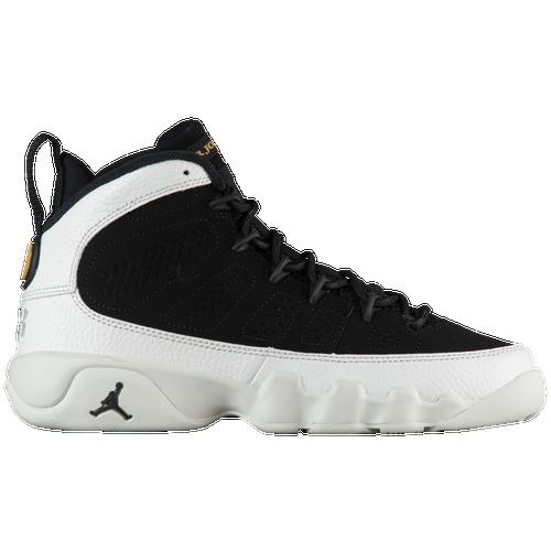 8cb5a886dc5b9 Jordan Retro 9 - Boys  Grade School - Casual - Basketball -  Black Black Summit White Metallic Gold