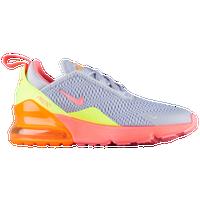 Nike Air Max 270 - Boys' Preschool - Grey / Pink