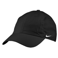 Nike Stock Heritage 86 Cap - Men's - All Black / Black