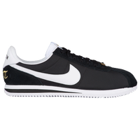 nike cortez black and metallic gold