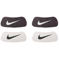 Nike Swoosh Home & Away Eyeblack Stickers - Black / White