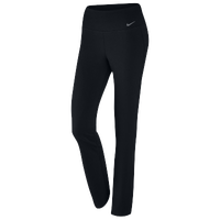 2c36be8b86ee Nike Dri-FIT Cotton Regular Pants - Women s - All Black   Black