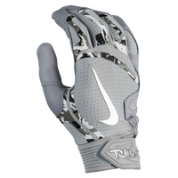 Nike Trout Elite Batting Gloves - Men's - Grey / Grey