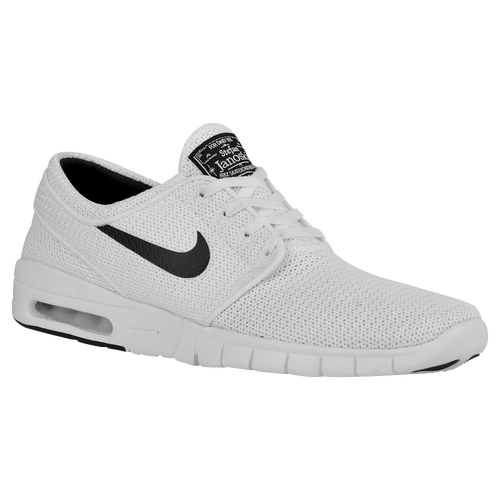 82e935fef706 Nike SB Stefan Janoski Max - Men s - Skate - Shoes - White Black