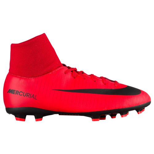 e3fe46a4a46f Nike Mercurial Victory VI Dynamic Fit FG - Boys  Grade School - Soccer -  Shoes - University Red Black Bright Crimson