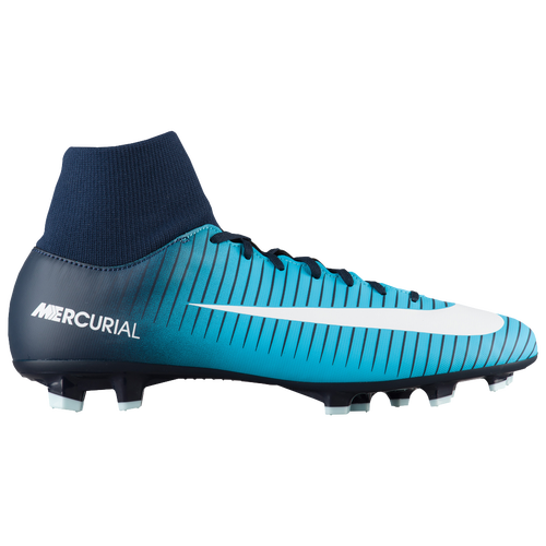 nike mercurial victory vi dynamic fit fg men 39 s soccer shoes thunder blue glacier blue. Black Bedroom Furniture Sets. Home Design Ideas