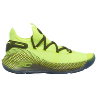 Under Armour Curry 6 - Boys' Grade School -  Stephen Curry - Light Green