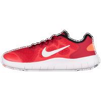 Nike Free RN 2017 Boys' Grade School Running Shoes BlackWhiteDark GreyAnthracite sku:04255002