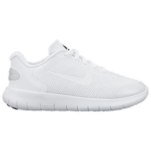 Nike Free RN 2017 - Boys' Preschool - Running - Shoes - White/White/Black/Pure  Platinum