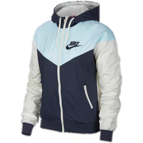 Nike womens jacket black and white windrunner