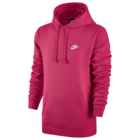 Nike Club Fleece Pullover Hoodie - Men's - Pink