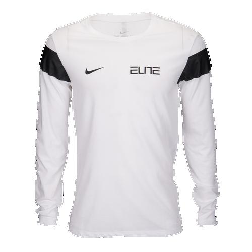 Chest Nike Ls Dark Elite Men's Shirt Clothing T Basketball wwrE5Hq