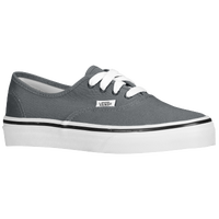 006c1facb3bb65 Vans Authentic - Boys  Preschool - Grey   White