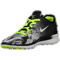 Nike Free 5.0 Noir  / Volt Vert  / Gris Foncé  / Marbre Blanc