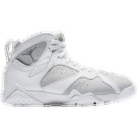 Jordan Retro 7 - Men's - White / Silver