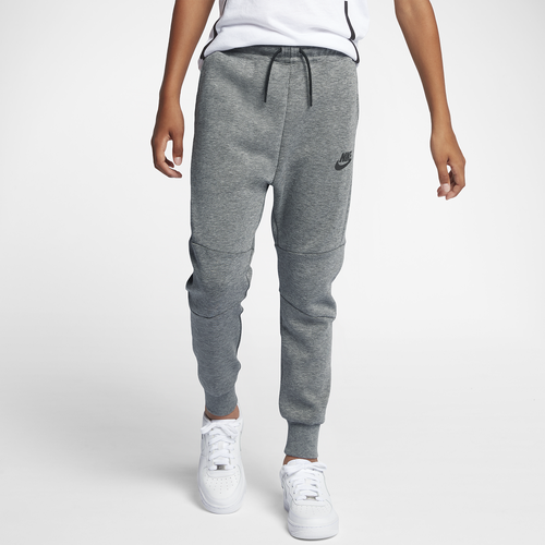 db8936a029b6 Nike Tech Fleece Pants - Boys' Grade School - Training - Clothing - Carbon  Heather/Anthracite