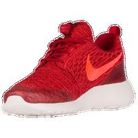 Nike Roshe Femmes En Rouge