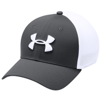 Under Armour TB Classic Mesh Golf Cap - Men's - Grey / White