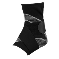 McDavid Ankle Sleeve w/ Figure-8 Straps - Black / Grey