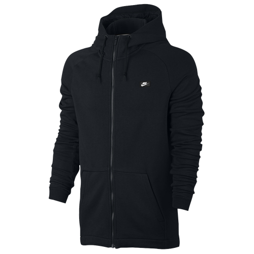 Nike Modern Full Zip Hoodie - Men\u0027s - All Black / Black