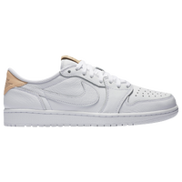 1dee227dd9a6 Jordan Retro 1 Low OG Premium - Men s - Basketball - Shoes - Black Vachetta  Tan White