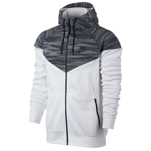 nike max air hybrid windrunner men 39 s casual clothing white black. Black Bedroom Furniture Sets. Home Design Ideas