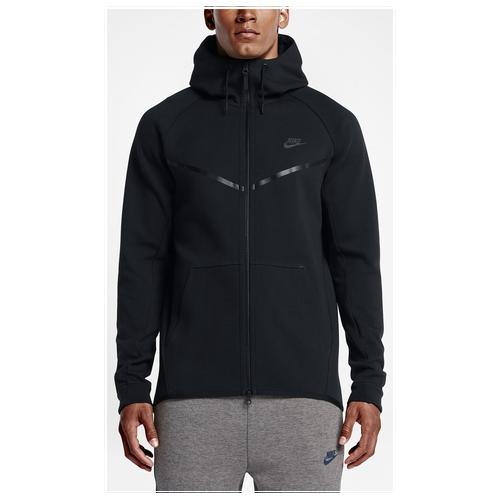 dc9040c96cc8 Nike Tech Fleece Full Zip Windrunner Jacket - Men s - Casual - Clothing -  University Red Heather Black