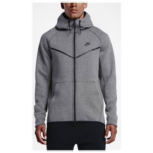 177e77b4d35a Nike Tech Fleece Full Zip Windrunner Jacket - Men s - Casual - Clothing -  University Red Heather Black