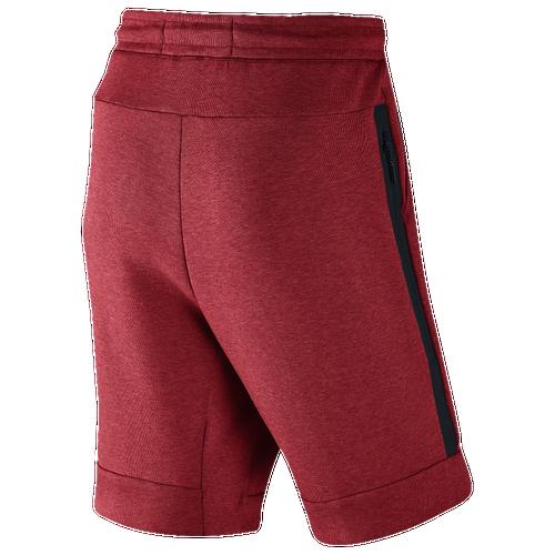 7e572b475dc8 Nike Tech Fleece Shorts - Men s - Casual - Clothing - Track Red ...