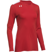Under Armour Team Endless Power L/S Jersey - Women's - Red / White