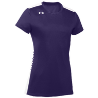 Under Armour Team Endless Power S/S Jersey - Women's - Purple / White