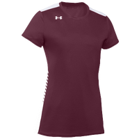 Under Armour Team Endless Power S/S Jersey - Women's - Maroon / White