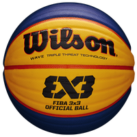 Wilson Fiba Official Game Ball - Men's - Gold / Blue