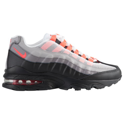 f743b09d733a Nike Air Max 95 - Boys  Grade School - Nike - Casual - Vast Grey Volt  Gunsmoke Total Orange