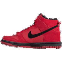 brand new 8ad57 b30ef Nike Dunk Hi - Boys Preschool - Red  Black