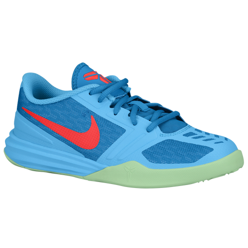 Nike Mentality - Boys\u0027 Grade School - Basketball - Shoes - Bryant, Kobe -  Clearwater/Bright Crimson/Light Blue Lacquer