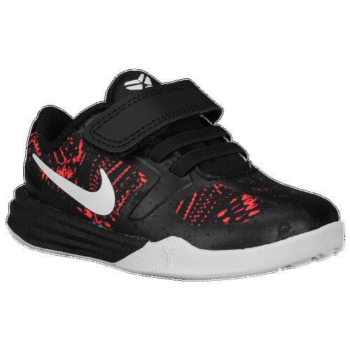 Nike Mentality - Boys\u0027 Toddler - Basketball - Shoes - Bryant, Kobe - Bright  Crimson/White/Black