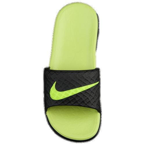 d0cc2c8c4540 Nike Benassi Solarsoft Slide 2 - Men s - Casual - Shoes - Black Volt