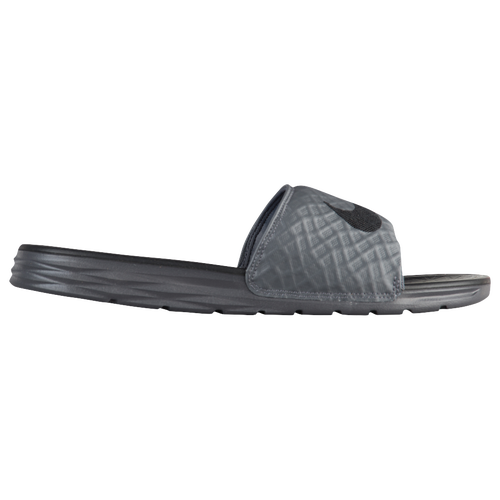 cd4be9179a12 Nike Benassi Solarsoft Slide 2 - Men s - Casual - Shoes - Black Volt