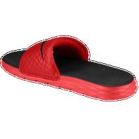 7037e72fe9d653 Nike Benassi Solarsoft Slide 2 - Men s - Casual - Shoes - Black Volt