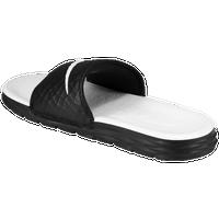 62a3fe3f4bcc9 Nike Benassi Solarsoft Slide 2 - Women s - Black   White