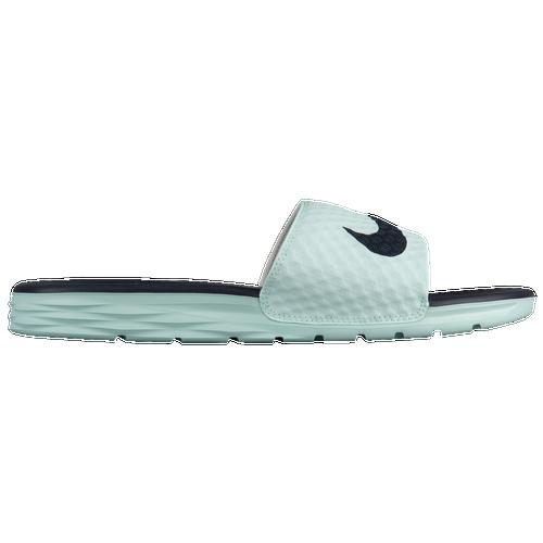 e7a5df5ef Nike Benassi Solarsoft Slide 2 - Women s - Casual - Shoes - White Fireberry