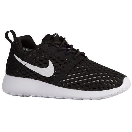 Nike Roshe Run Flight Weight - Boys' Grade School - Running - Casual -  Matte Silver/Metallic Silver/Black/White
