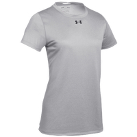 Under Armour Team Locker S/S T-Shirt - Women's - Grey / Black
