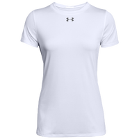 Under Armour Team Locker S/S T-Shirt - Women's - White / Grey